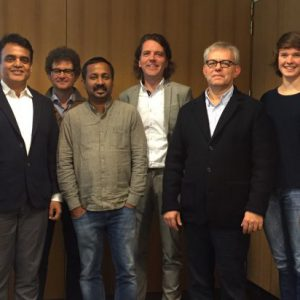 Delegation of Dr. Ashwath Narayan (India) visits MyMachine Global in Kortrijk, Belgium.
