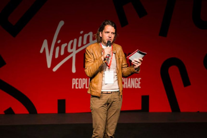 MyMachine MainStage at Virgin Disruptors 2016 in London