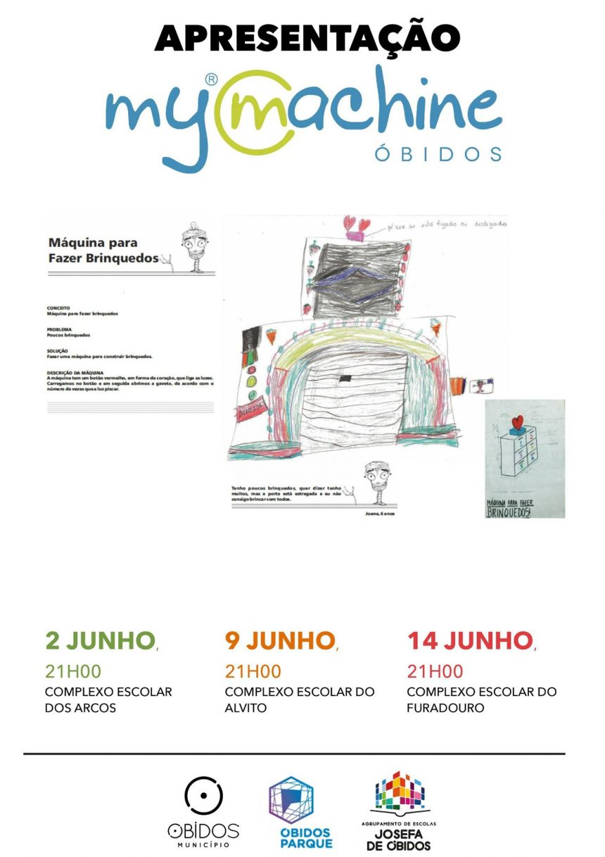 MyMachine Óbidos (Portugal) announcing their 2017 Grand Exhibition(s)