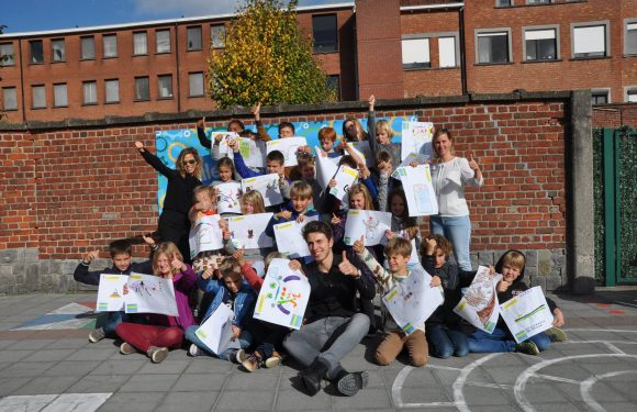 MyMachine Flanders & Brussels (Belgium) creating their first inventions 2017-2018
