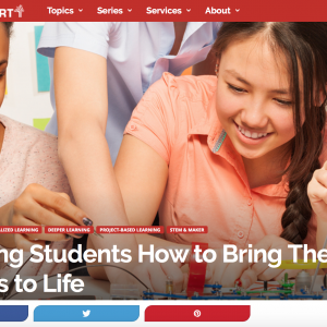 MyMachine featured on Getting Smart, leading platform on education in the USA