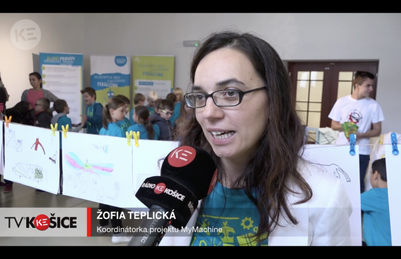 TV Kosice coverage on the MyMachine Slovakia 2018 Exhibition