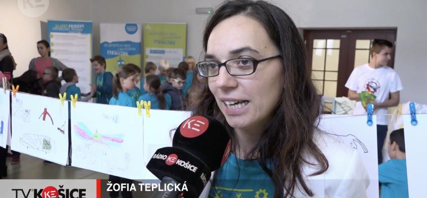 TV Kosice coverage on the MyMachine Slovakia 2018 Exhibition