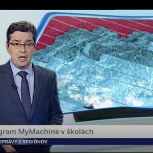 MyMachine Slovakia on national television
