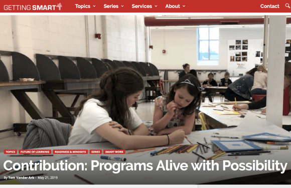 "MyMachine on the ""Programs Alive With Possibility""-list from Getting Smart!"
