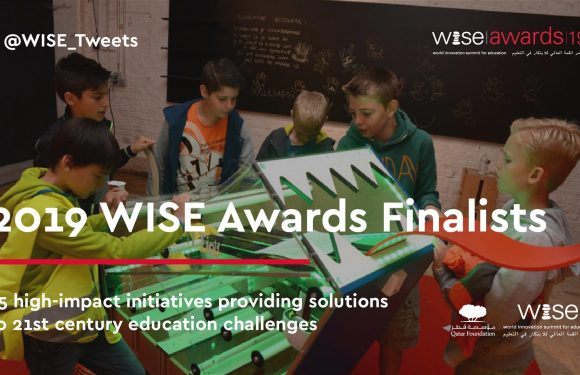 MyMachine shortlisted for the 2019 WISE Awards by the Qatar Foundation