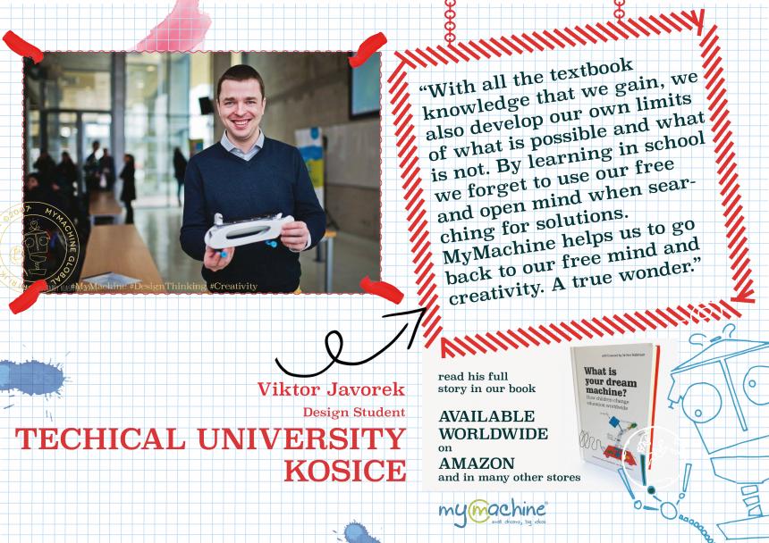 Viktor Javorek on his MyMachine experience