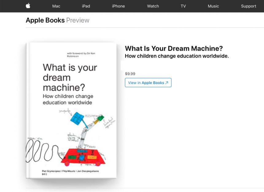 Our book now live in the Apple iBooks Store