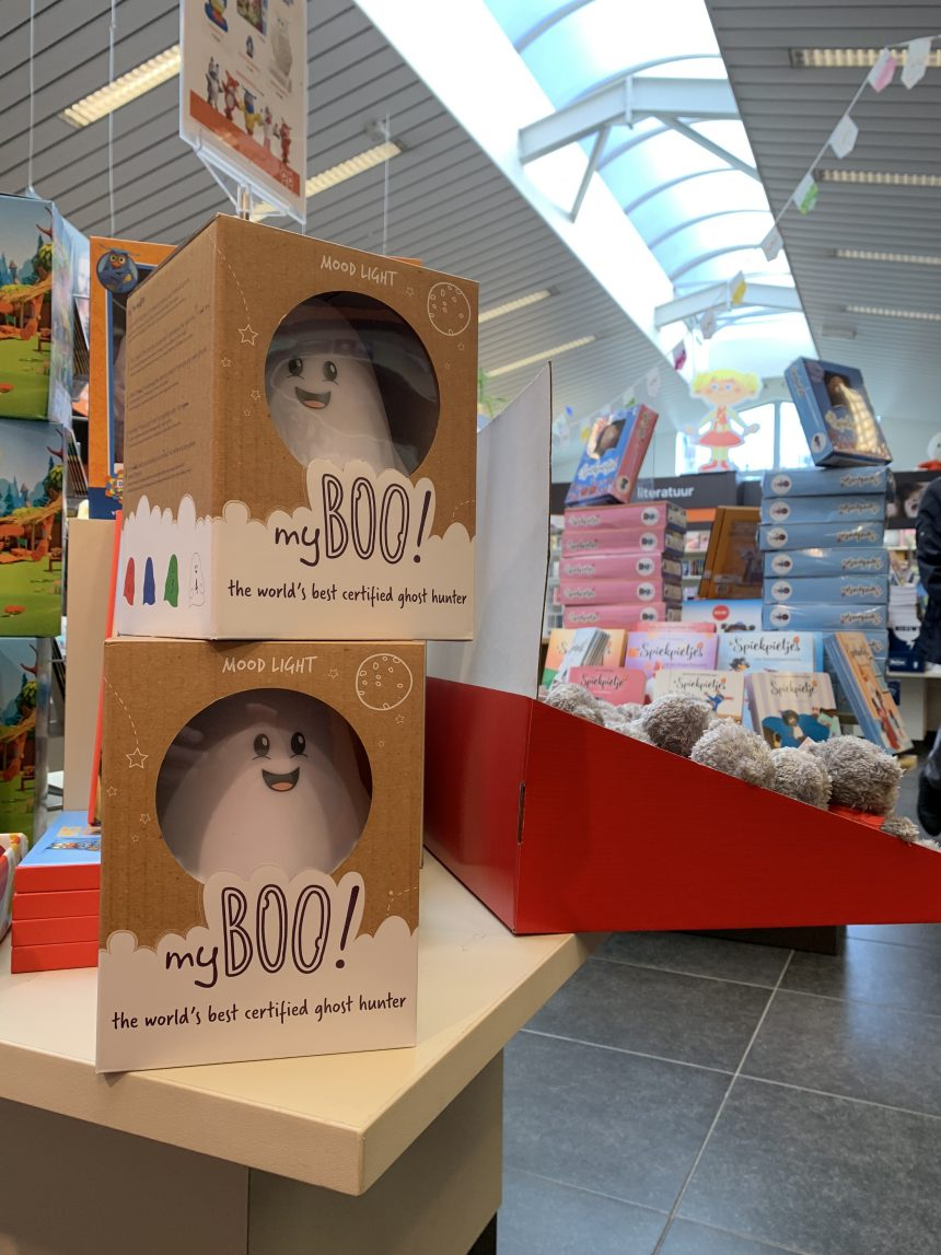 myBOO drops in shops across Belgium and other countries