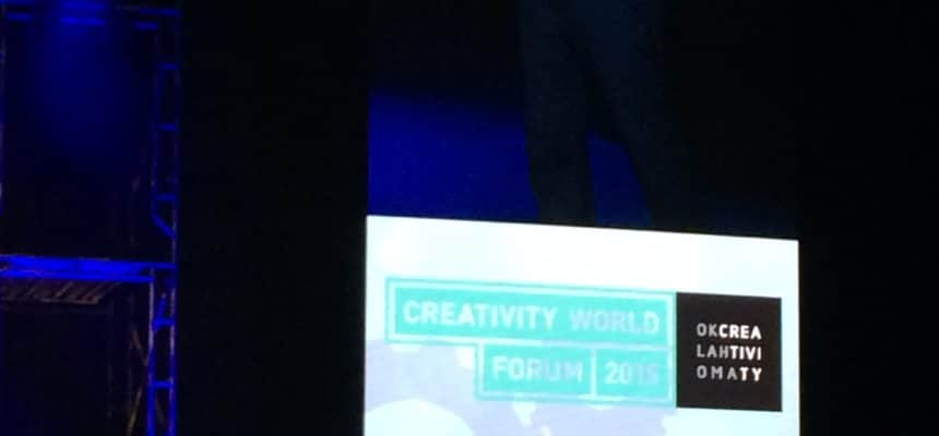 MyMachine going main stage at the Creativity World Forum 2015
