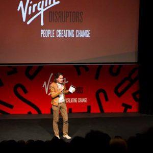 MyMachine MainStage at Virgin Disruptors 2016 in London