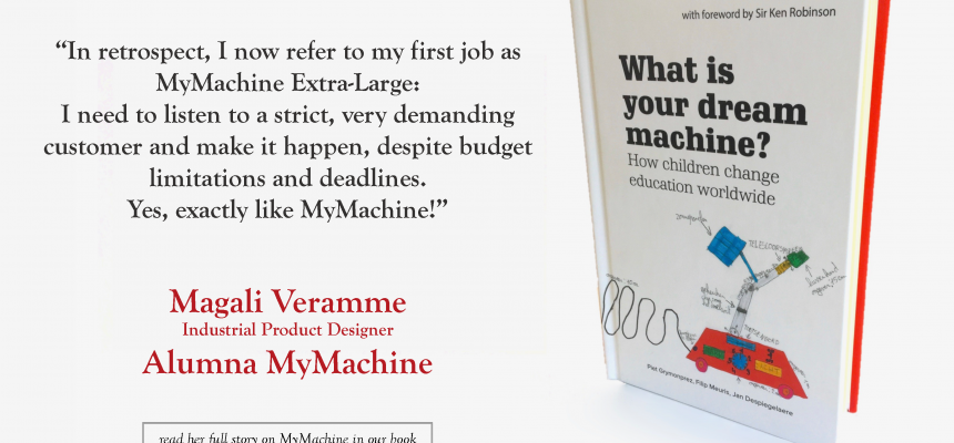 Magali – alumna MyMachine – on her MyMachine experience