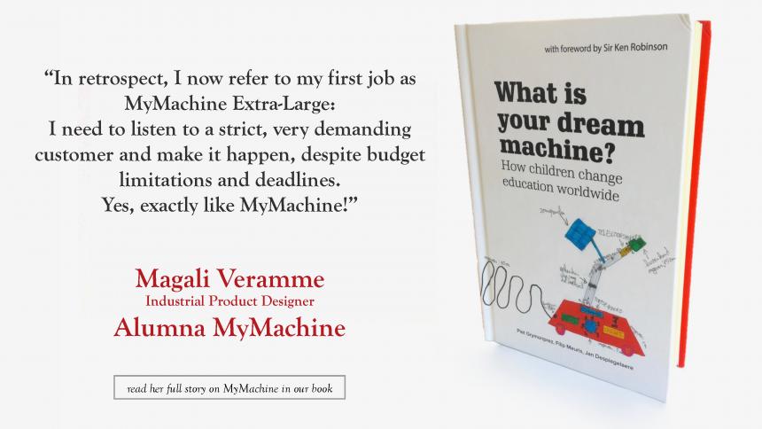 Magali – alumna MyMachine – on her MyMachine experience