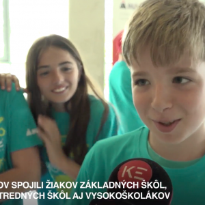 MyMachine Slovakia 2019 Exhibition on television