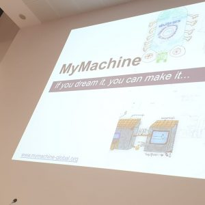 MyMachine South Africa at Unesco Global Creative Cities Network Event in Italy