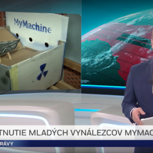 MyMachine Slovakia on National Television