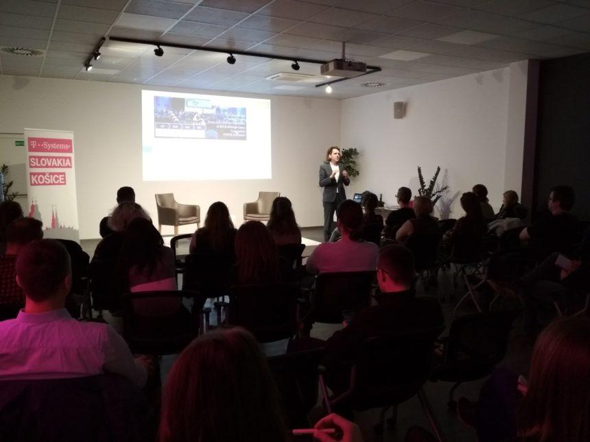 MyMachine Design Thinking talk at T-Systems Slovakia