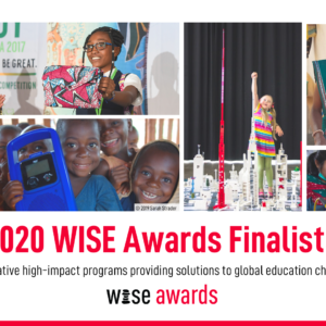 MyMachine shortlisted for the prestigious WISE 2020 Global Education Awards (Qatar Foundation)