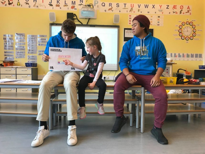 The new MyMachine Norway cycle started in primary classrooms!