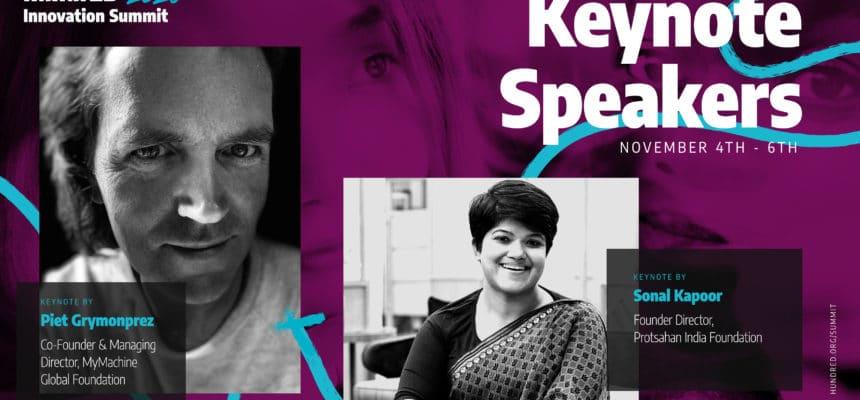MyMachine keynote at HundrED Innovation Summit 2020 in Helsinki