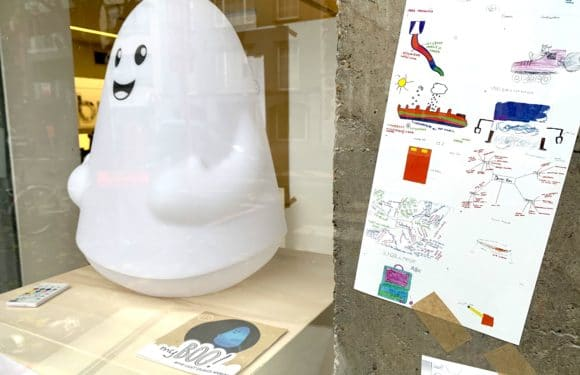 myBOO on display in Korner – Business Incubator and Wonder – Kortrijk Creativity Festival