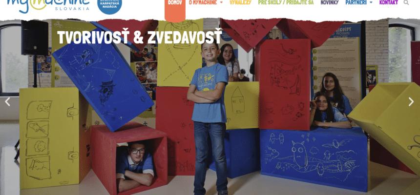 New website for MyMachine Slovakia
