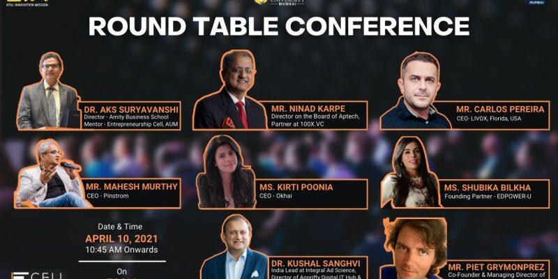 MyMachine at Round Table Conference of Amity University Mumbai, India