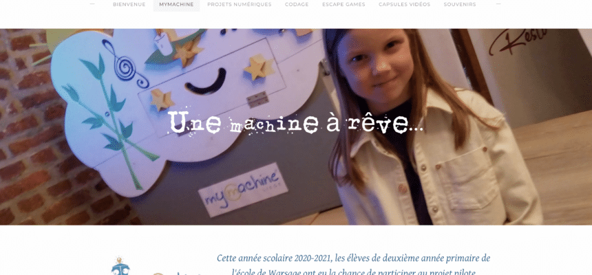 Primary School children wrote about their MyMachine experience